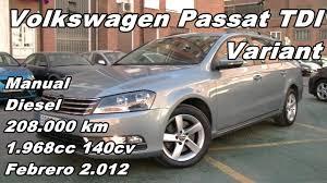 volkswagen passat variant tdi manual diesel 208 000km 140cv en