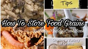 how to store food grains worm free rice u0026 pulses kitchen tip