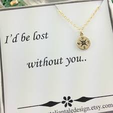 Best Christmas Gifts For A Wife Compass Necklace Travelers Necklace Best Friend Gift Gold Compass