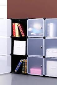 Cube Bookcase Songmics 3 Tier Diy Storage Cube Organizer Closet 9 Cube Bookcase