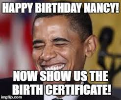 Obama Birthday Meme - laughing obama imgflip