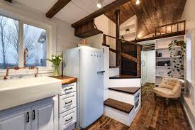Tiny Home Interior Tiny House Town Rustic Tiny From Mint Tiny House Company