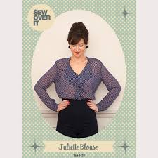 blouse sewing patterns sew it juliette blouse pdf sewing pattern sew it