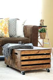 Wood Storage Ottoman Outstanding Wood Crate Ottoman Wood Crate Ottoman Photos Wooden