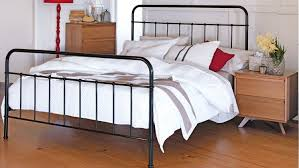 sunday bed frame black domayne