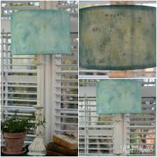 sea glass inspired lamp shade lamps com all things heart and home