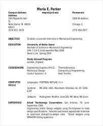Sample Resume In Doc Format 47 Engineering Resume Samples Free U0026 Premium Templates