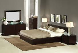 modern solid wood platform bed home decorations insight