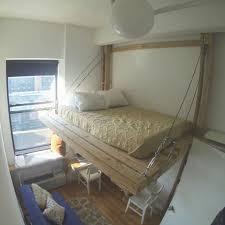 Suspended Bed Frame Hanging Bed Loft Bed Suspended Bed Floating Bed Tree