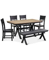 Dining Tables With Bench And Chairs Dining Room Sets Macy U0027s