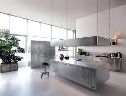 stainless steel kitchens stainless steel kitchen design by abimis interiorzine