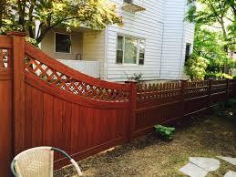 wood grain vinyl fence panels u2014 bitdigest design modern white