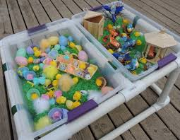 how to build a sensory table elegant baby easter picture ideas compilation photo and picture ideas