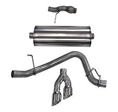gmc yukon back exhaust system for redesigned 2015 chevy tahoe and gmc yukon now