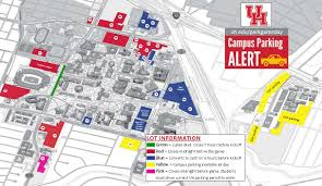 Uconn Campus Map Campus Parking On Game Day University Of Houston