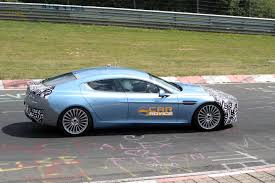 2012 aston martin rapide aston 2012 aston martin rapide s spied on the nurburgring photos 1 of 7