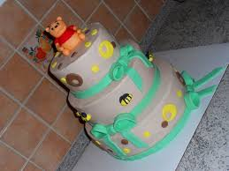 winnie the pooh baby shower cake cakecentral com