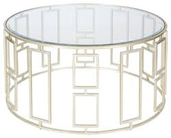 best round glass and metal coffee table the 50 most beautiful