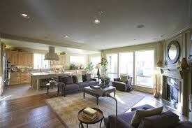living room and kitchen open floor plan glamorous open kitchen dining room floor plans gallery best layout