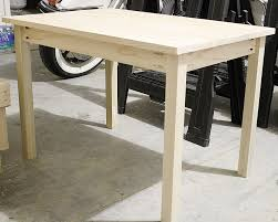 How To Build A Cheap End Table by How To Build A Diy Kids Play Table