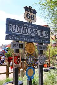 photography route 66 welcome to radiator springs cars land
