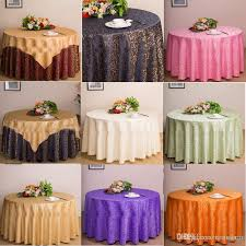 banquet table linens wholesale table cloth table cover round for banquet wedding party decoration