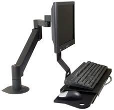 Wall Mount Monitor Keyboard Package Monitor Keyboard Arms