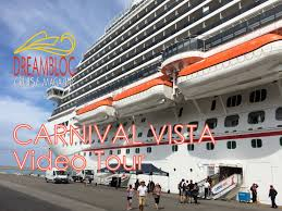 carnival vista video tour youtube
