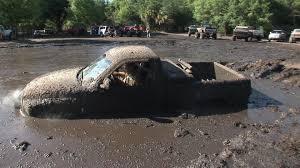 Ford Diesel Trucks Mudding - truck stuck in mud youtube