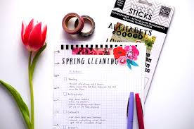 cleaning ideas the happy planner spring cleaning me my big ideas