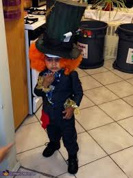 Halloween Costumes Mad Hatter Smallest Mad Hatter Baby Halloween Costume