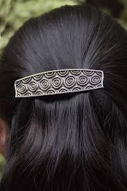 hair spirals hair clip barrette hair accessory spirals oberon design