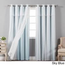 Baby Blue Curtains Pastel Baby Blue Curtains Turn Your Bedroom Into The Beautiful
