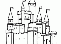 coloring castle coloring pages free blueoceanreef