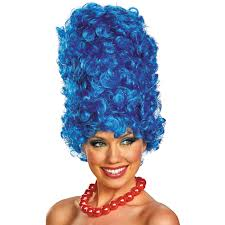 halloween wigs for men simpsons costumes bart lisa homer u0026 marge simpson costumes