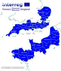Calais France Map by Interreg France Channel England Norfolk County Council