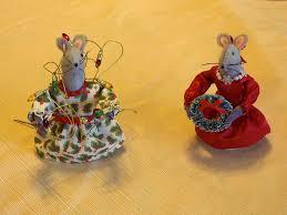 Christmas Mice Decorations Leeann U0027s Church Mice For 2012