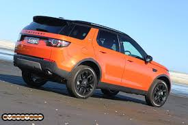 land rover orange first drive land rover discovery sport oversteer