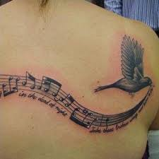 32 beautiful music note tattoos designbump