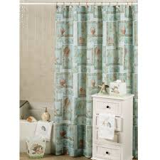 beachy shower curtains design