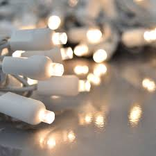 Twinkling Christmas Tree Lights Canada by Warm White Led String Lights 200 Lights White Wire