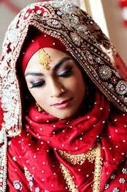 Red Bridal Dress Makeup For Brides Pakifashionpakifashion Popularity Of Wedding Abaya For Women Pakifashionpakifashion