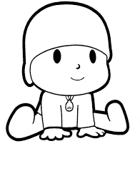 free printable pocoyo coloring pages kids