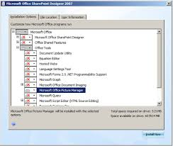 office sharepoint designer 2007 what happened to microsoft office picture manager