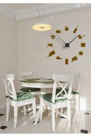 horloges murales cuisine sticker horloge murale en cuisine 2 horloge cuisine