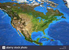 Satellite View Maps Detailed Satellite View Of The Earth And Its Landforms In Summer