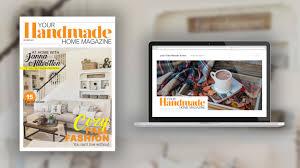 Home Interior Magazines Your Handmade Home Magazine Magazinelaunch