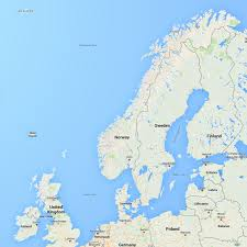 Show Me A Map Of Europe by Map Of Norway