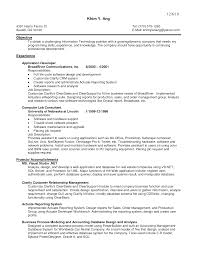 Retail Job Responsibilities Resume by Senior Software Sales Consultant Job Description Business
