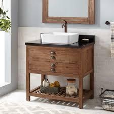 Pine Bathroom Furniture 36 Benoist Reclaimed Wood Vessel Sink Vanity Pine Bathroom